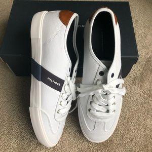 Tommy Hilfiger White Pandora Sneaker Size 11.5
